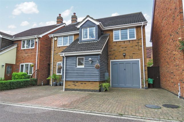 Thumbnail Detached house for sale in Midland Gardens, Shefford, Bedfordshire