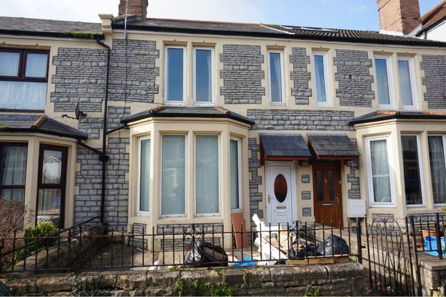 Thumbnail Terraced house for sale in Kingsland Crescent, Barry