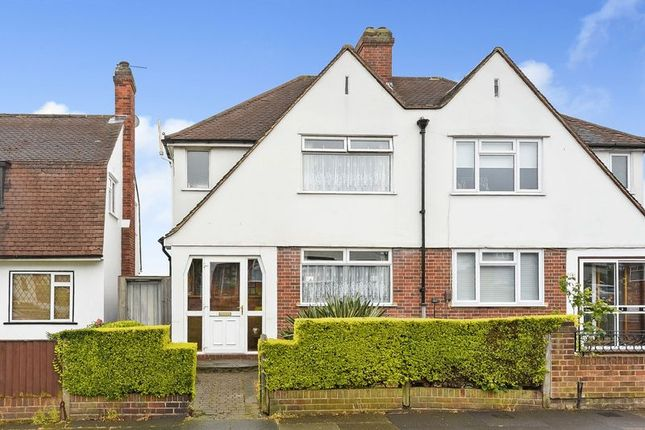 Thumbnail Semi-detached house for sale in Oakshade Road, Bromley