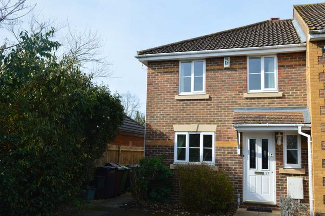 Thumbnail End terrace house to rent in Silk Mill Road, Redbourn, St.Albans