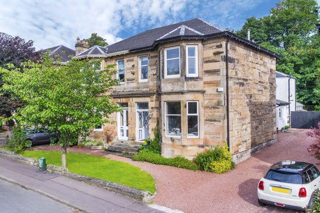 Thumbnail Semi-detached house for sale in 38 Viewpark Drive, Burnside, Glasgow