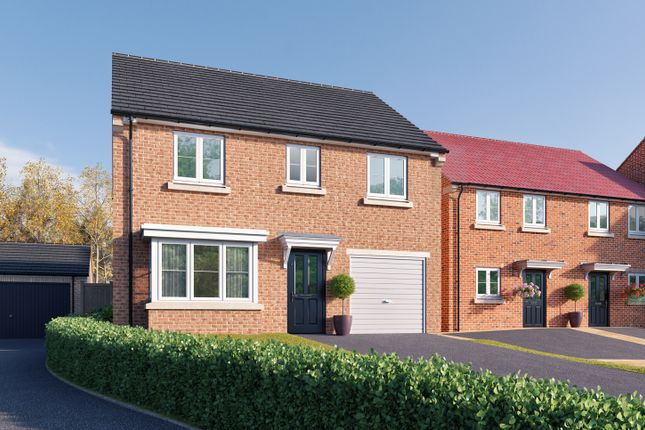 "Thumbnail Detached house for sale in ""The Barlow"" at St. Thomas's Way, Green Hammerton, York"