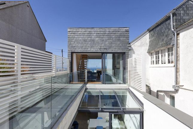 Thumbnail Terraced house for sale in West Place, St. Ives, Cornwall