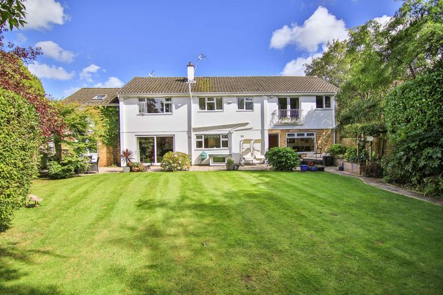 Thumbnail Detached house for sale in The Coppins, Lisvane, Cardiff