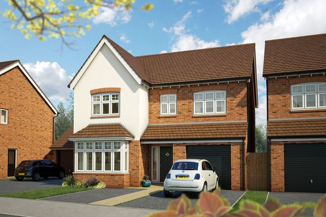 """Thumbnail Detached house for sale in """"The Alder"""" at Canon Ward Way, Haslington, Crewe"""