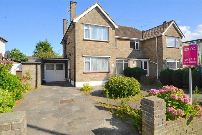 3 bed semidetached house for sale in Maplin Way Thorpe Bay Essex