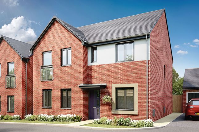 """Thumbnail Detached house for sale in """"The Mayfair"""" at Llantrisant Road, Capel Llanilltern, Cardiff"""