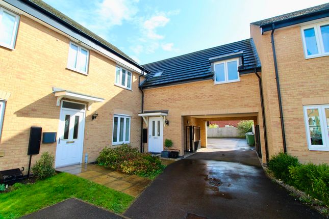 Thumbnail Terraced house for sale in Fletcher Way, Gunthorpe, Peterborough