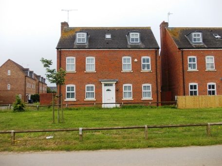 Thumbnail Detached house to rent in Crowsfurlong, Coton Park, Rugby