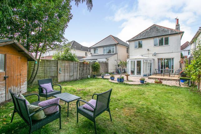 Thumbnail Detached house for sale in Somerley Road, Winton, Bournemouth