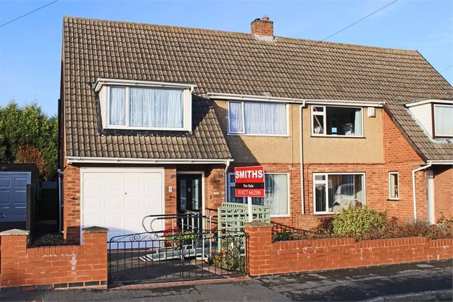 Thumbnail Semi-detached house for sale in Lavender Road, Amington, Tamworth, Staffordshire