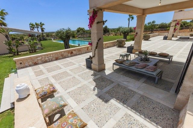 Terrace Covered of Spain, Mallorca, Ses Salines