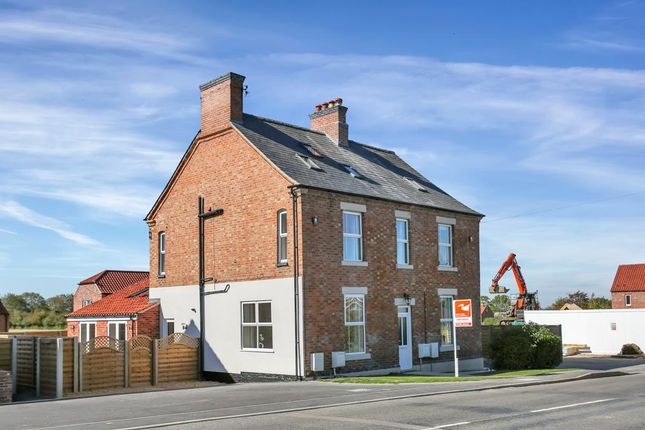 Thumbnail Semi-detached house for sale in Langar Lane, Harby, Melton Mowbray