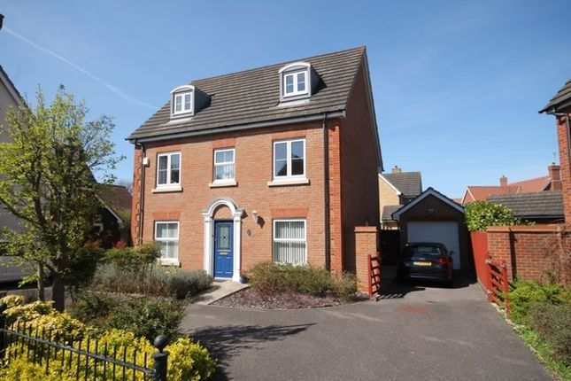 Thumbnail Detached house for sale in Gavin Way, Highwoods, Colchester