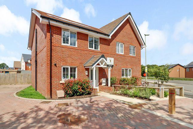 Thumbnail Semi-detached house for sale in Farm Road, Horton Heath, Eastleigh