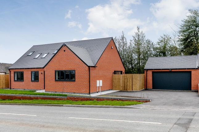 Thumbnail Bungalow for sale in Main Road, Hulland Ward, Ashbourne, Derbyshire