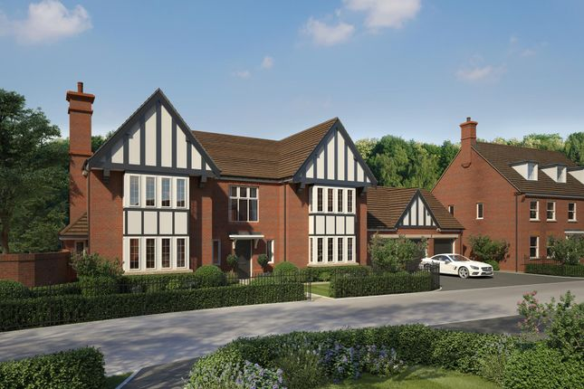 "Thumbnail Detached house for sale in ""Harlequin House"" at Wedgwood Drive, Barlaston, Stoke-On-Trent"