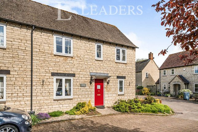 Thumbnail End terrace house to rent in Glissard Way, Bradwell Village, Burford
