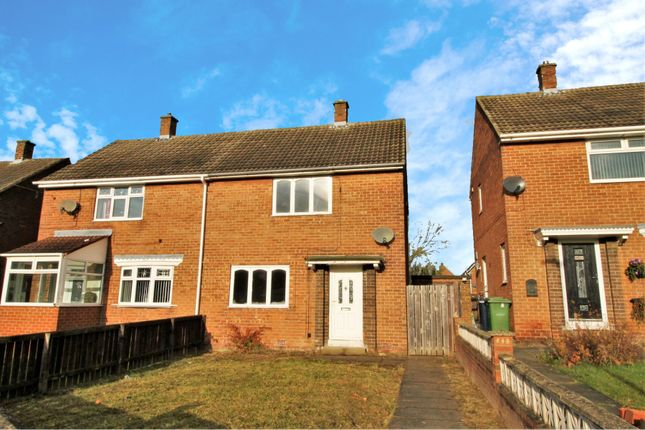 Thumbnail Semi-detached house for sale in Rosedale Crescent, Houghton Le Spring