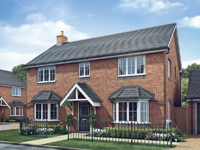 Thumbnail Detached house for sale in The Walnut, Kings Street, Yoxall, Staffordshire