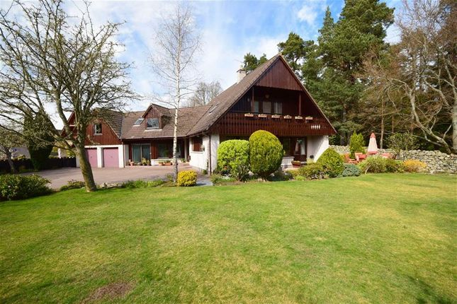 Thumbnail Detached house for sale in Woodside Avenue, Grantown-On-Spey