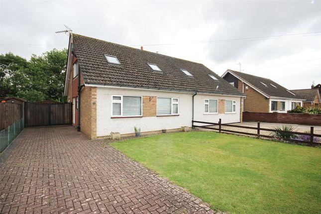 Thumbnail Semi-detached house for sale in Bibury Avenue, Stoke Lodge, Bristol