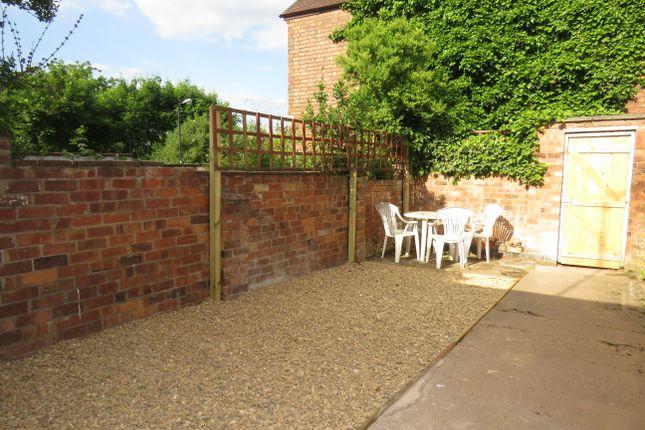 Garden of Clapham Terrace, Leamington Spa CV31
