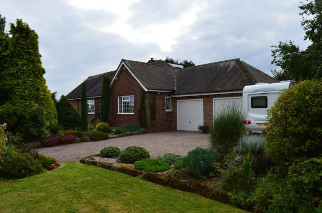 Thumbnail Bungalow for sale in Croxall, Lichfield, Staffordshire