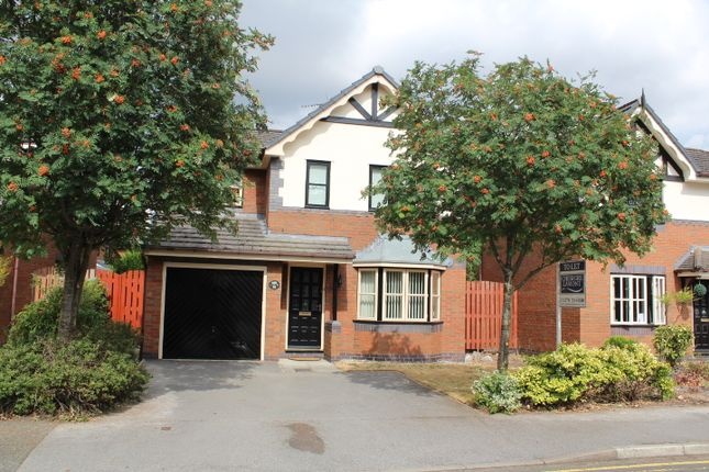 Thumbnail Detached house to rent in Mill Bridge Close, Crewe, Cheshire