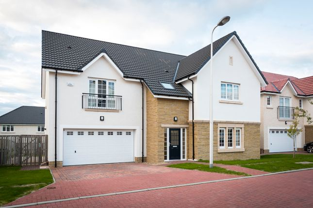 Thumbnail Detached house for sale in Luggie Avenue, Lenzie, Glasgow