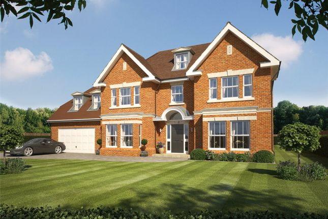 Thumbnail Detached house for sale in Devenish Lane, Sunningdale, Ascot