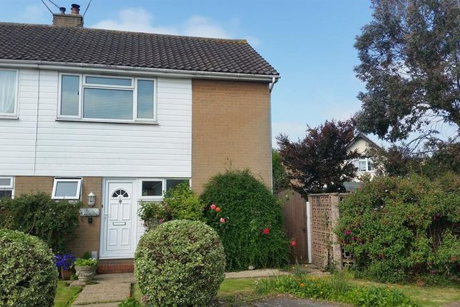 Thumbnail Semi-detached house to rent in Pembury Close, Worthing