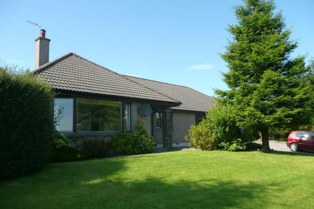 Thumbnail Detached bungalow to rent in Westhill Heights, Skene, Westhill