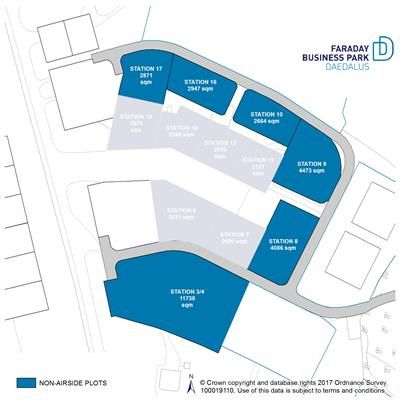 Thumbnail Light industrial for sale in Faraday Business Park Non Airside Plots, Solent Airport, Daedalus, Lee-On-Solent, Hampshire