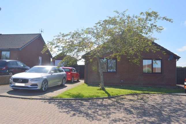 Thumbnail Detached bungalow for sale in Islestone Court, Tweedmouth, Berwick-Upon-Tweed