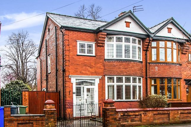 Thumbnail Semi-detached house for sale in Milwain Road, Levenshulme, Manchester