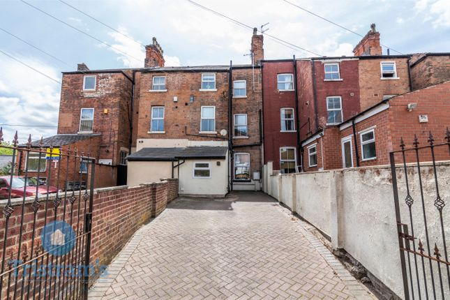 Thumbnail Terraced house to rent in Alpha Terrace, Nottingham