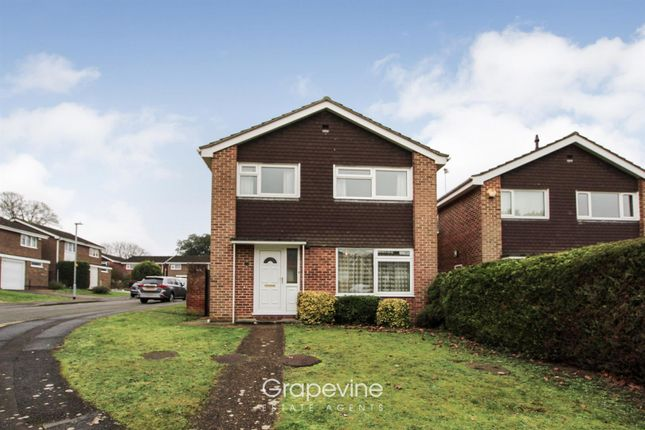 Thumbnail Detached house for sale in Wagtail Close, Twyford, Reading