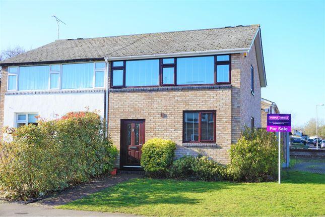 Thumbnail Semi-detached house for sale in Rise Park, Lee Chapel