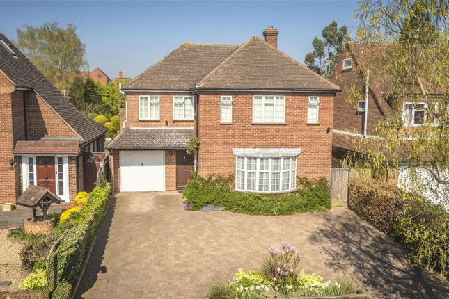 Thumbnail Detached house for sale in Abbey Avenue, St Albans, Hertfordshire