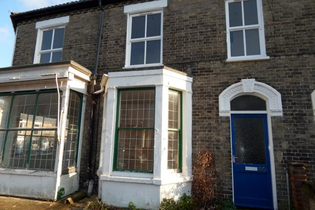 Thumbnail Property to rent in Connaught Road, Norwich