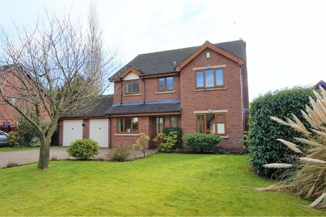 Thumbnail Detached house for sale in Nightingale Close, Stoke-On-Trent
