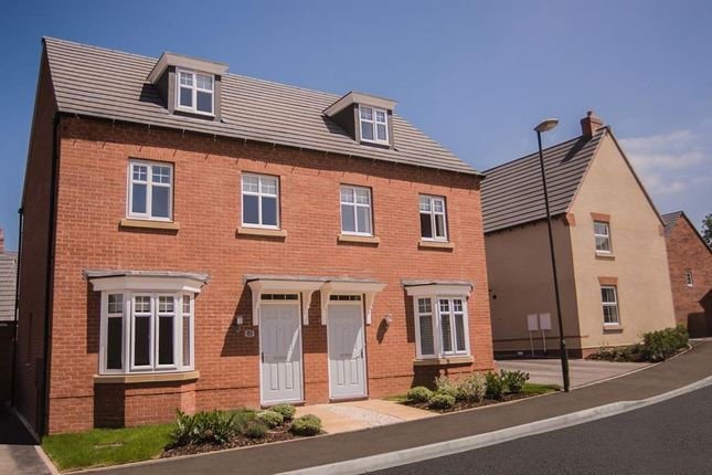 "Thumbnail End terrace house for sale in ""Kennett"" at Fosse Road, Bingham, Nottingham"
