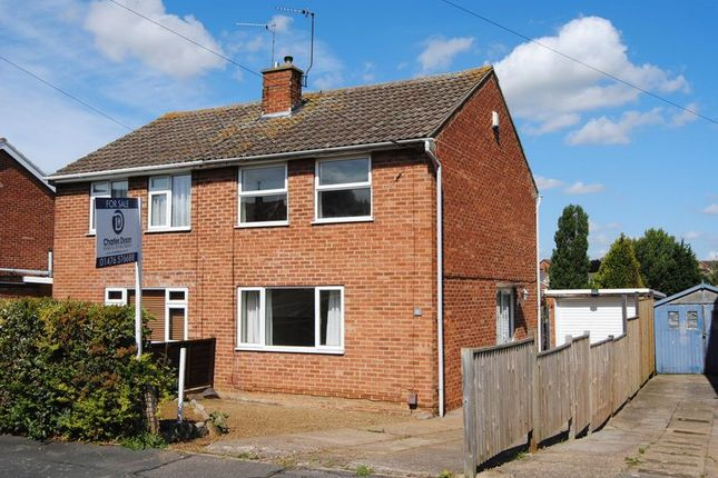 Thumbnail Semi-detached house to rent in Newport Avenue, Grantham