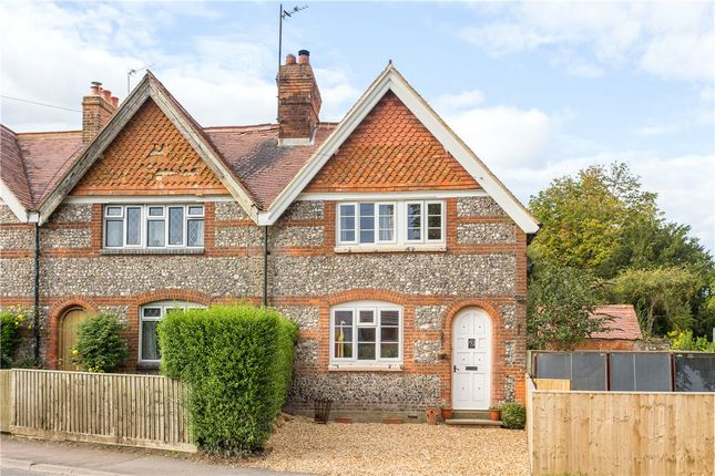 Thumbnail End terrace house for sale in The Green, Baydon, Marlborough, Wiltshire