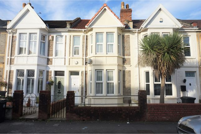 Thumbnail Terraced house for sale in Winchester Road, Brislington