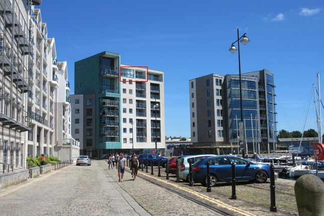 Thumbnail Flat for sale in 8 Harbour Avenue, Sutton Harbour, Plymouth, Devon