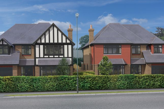 Thumbnail 5 bed detached house for sale in New Build Houses, Hawthorne Road, Bickley