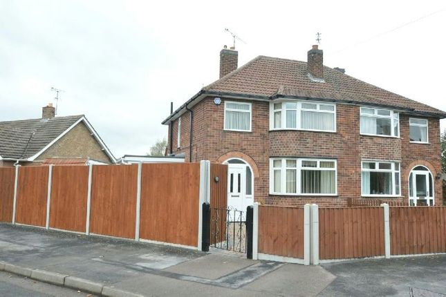 Thumbnail Semi-detached house for sale in Heybrook Avenue, Blaby, Leicester