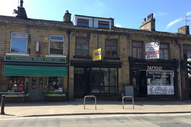 Retail premises to let in 723 Bacup Road, Rossendale, Lancashire